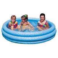 Intex zwembad chrystal blue 168x38cm
