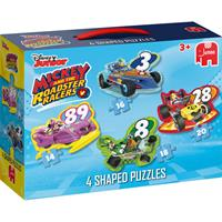 Jumbo Disney Junior Mickey Roadster Racers 4in1 vormpuzz