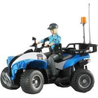 BRUDER Politiequad met politieagente en accessoires