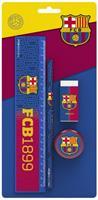 FC Barcelona schrijfset FCB1899 blauw/rood 4 delig