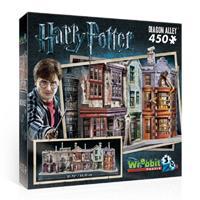 Wrebbit 3D Puzzel - Harry Potter Diagon Alley (450 stukjes)