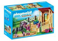 PLAYMOBIL Country - Arabier met paardenbox
