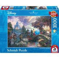 Schmidt Disney Cinderella 1000 stukjes - Puzzel