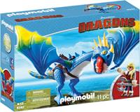 PLAYMOBIL Dragons - Astrid & Stormvlieg
