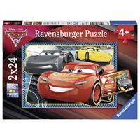 Ravensburger puzzle 2x24 stukjes Avonturen met Lightning McQueen