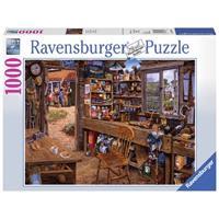 Ravensburger puzzel Opa`s schuurtje
