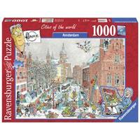 Ravensburger puzzel Amsterdam in de winter