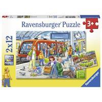 Ravensburger puzzle 2x12 stukjes Instappen! op=op