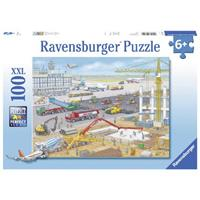 Ravensburger Baustelle am Flughafen Puzzle 100 teilig 10624