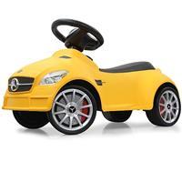 Bbm Kids Loopauto - Mercedes SLK55 AMG, geel - Geel
