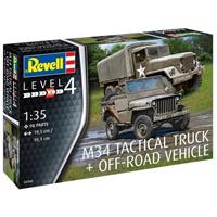Revell 1/35 M34 Tactical Truck + Willys Jeep