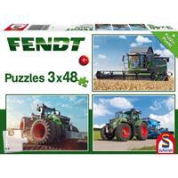Schmidt Fendt 3 x 48 stukjes - Puzzel