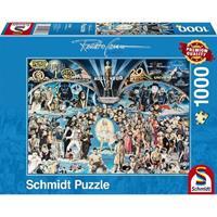 Schmidt Hollywood 1000 stukjes - Puzzel