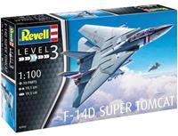 Super Tomcat Revell: Schaal 1:100