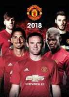 Manchesterunited kalender 2018 Official 30 x 42 cm