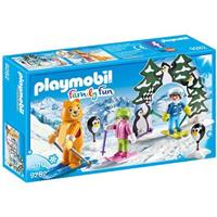 PLAYMOBIL Family Fun - Skischooltje