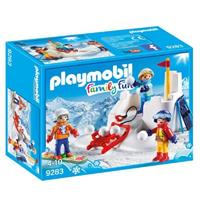 PLAYMOBIL Family Fun - Sneeuwballengevecht