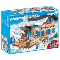 PLAYMOBIL Family Fun - Skihut
