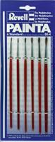 29621 revell painta standaard, 6 penselen groot 00-4