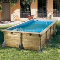 Ubbink Zwembad Azura 350x505 - Blauw