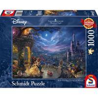 Schmidt Disney Beauty and the Beast 1000 stukjes - Puzzel