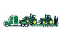 1837 Dieplader met John Deere tractoren 1:87