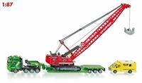 Super - Zwaar transport met kabelgraaf machine