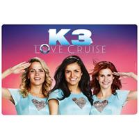 Studio100 placemat K3 Love Cruise 41 x 29 cm roze