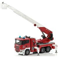 bruder Scania R-Serie brandweer ladderwagen