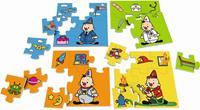 puzzels Bumba beroepen 4-delig