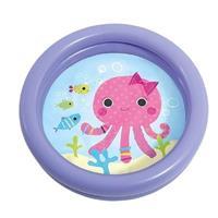 Intex baby/kinder opblaas zwembad paars 61 cm Groen