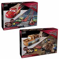 Mattel Cars 3 Transforming Mater And Blue McQueen