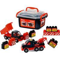 Mammoet Toys Polesie Mammoet Mini Truck met Bakstenen