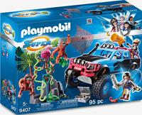 Playmobil Super 4 9407 Monster Truck with Alex Rock and Brock