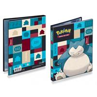 Pokemon verzamelmap 4-pocket Snorlax