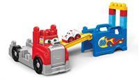 First Builders bouw & race truck speelset
