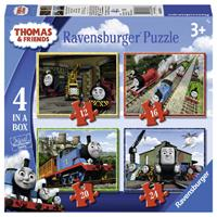 Ravensburger Thomas & Friends Puzzel (4 in a box)