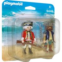 PLAYMOBIL Pirates - DuoPack Piraat en soldaat