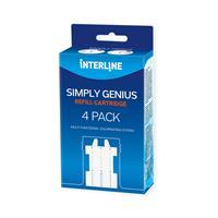 Interline Simply Genius Navulset 4 Stuks