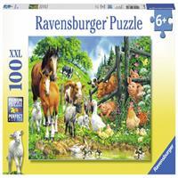 Ravensburger Puzzel Dieren Komen Samen (100)