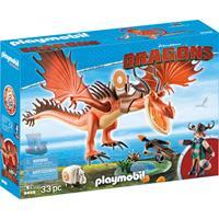 PLAYMOBIL Dragons - Snotvlerk en Haaktand