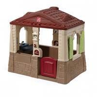 Step2 speelhuisje Neat & Tidy Cottage II bruin 163 cm