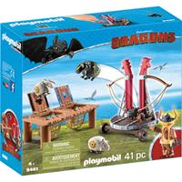 PLAYMOBIL Dragons - Rochel met schapenslingeraar
