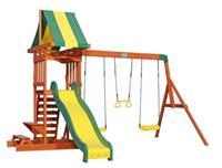 Backyard Discovery Sunnydale speeltoren met schommels 406 cm