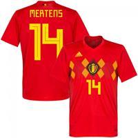 België Shirt Thuis Junior WK 2018-2019 Mertens 14