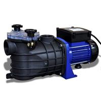 vidaXL Schwimmbadpumpe Umwälzpumpe Poolpumpe Pumpe elektronik blau 500W Lila