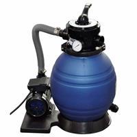 vidaXL Sandfilterpumpe 400 W 11.000 L/h Blau