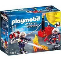Playmobil City Action - Brandweerteam met waterpomp