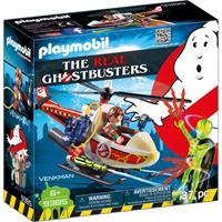 PLAYMOBIL Ghostbusters - Venkman met helikopter