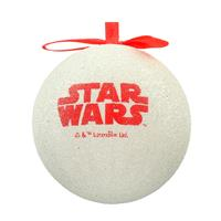 SD Toys Star Wars: Han And Leia Mistletoe Christmas Ball